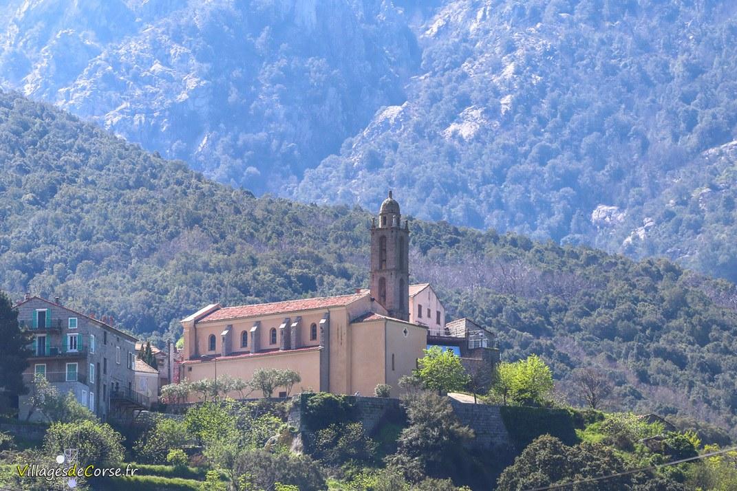 Eglise - Saint Nicolas - Petreto Bicchisano