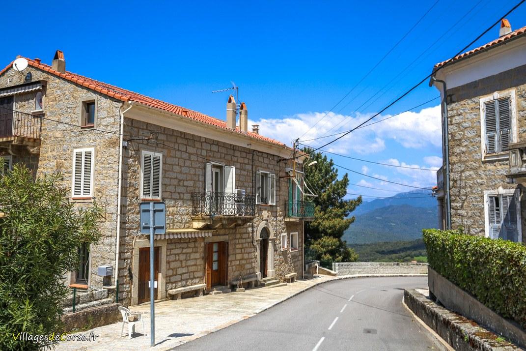 Route - Petreto Bicchisano
