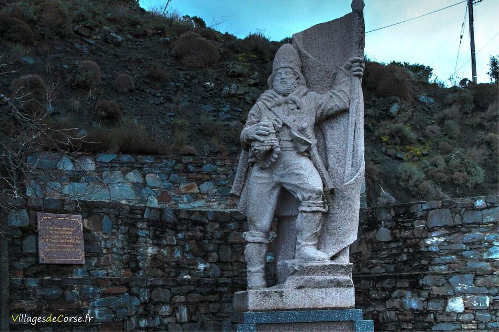 Statue - Sambucciu d'Alandu - Alando