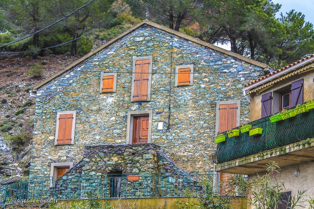 Maison en pierres - Altiani