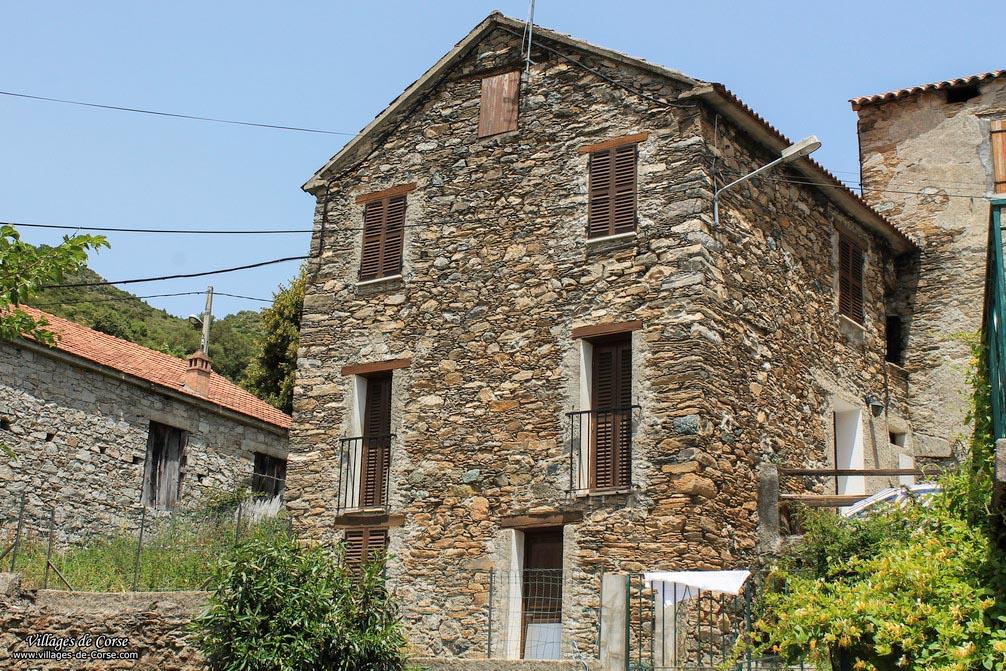Maison en pierres - Bustanico