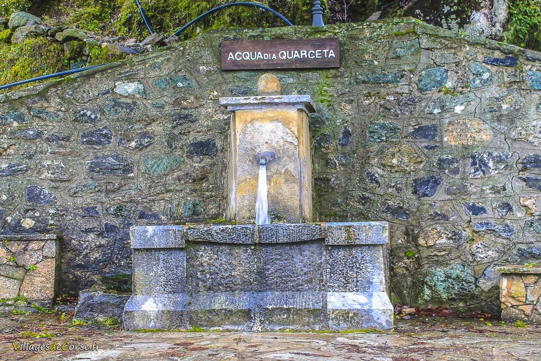 Fontaine - Acqua di a Quarceta - Focicchia