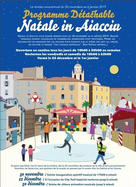Marché de Noël Ajaccio 2018