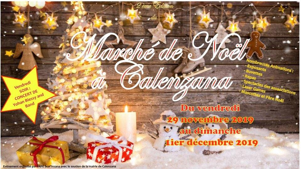Marché de Noël de Calenzana