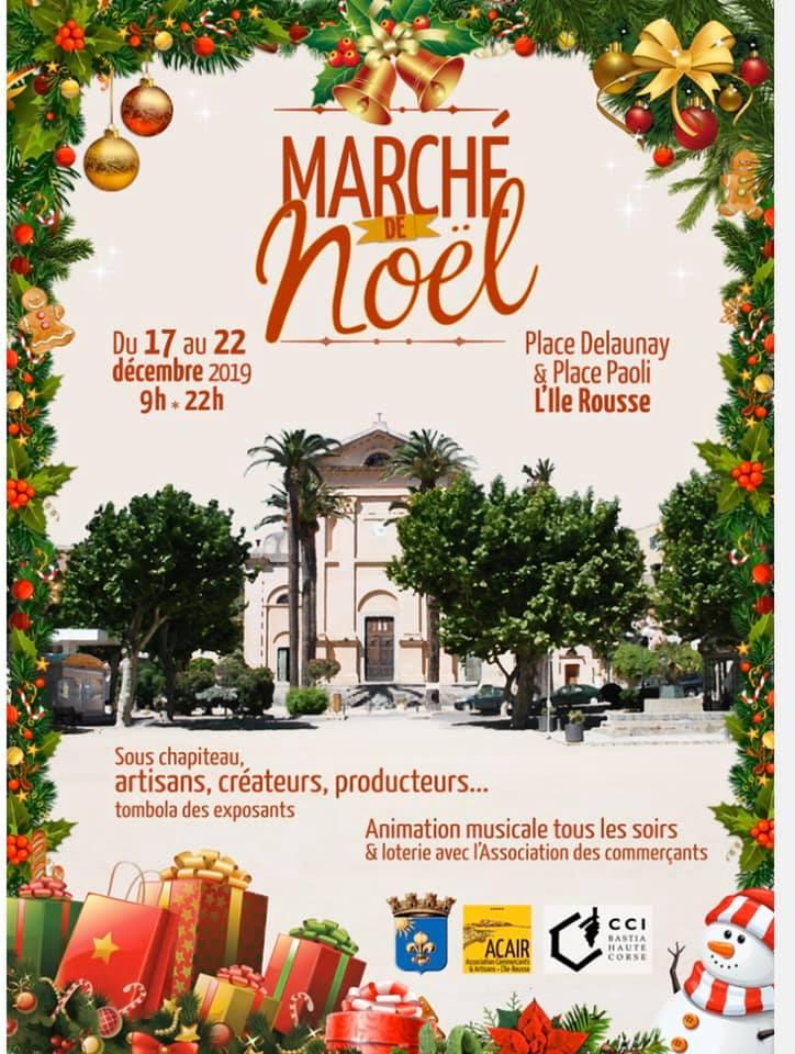 Marché de Noël d'Île Rousse
