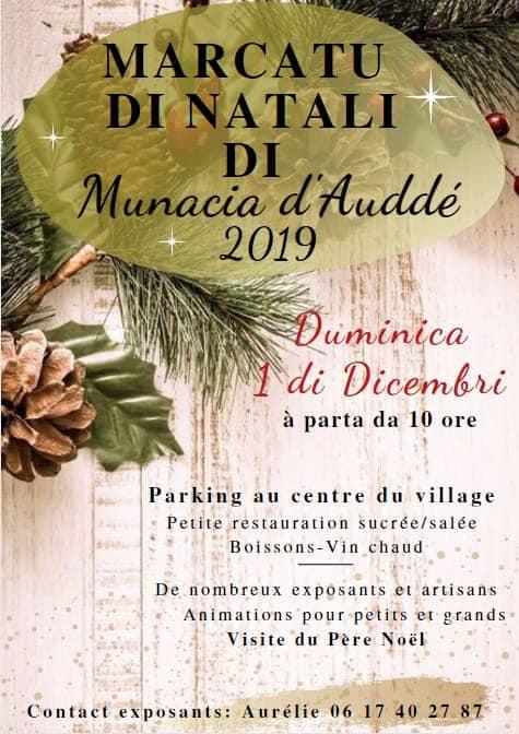Marché de Noël de Monacia d'Aullène