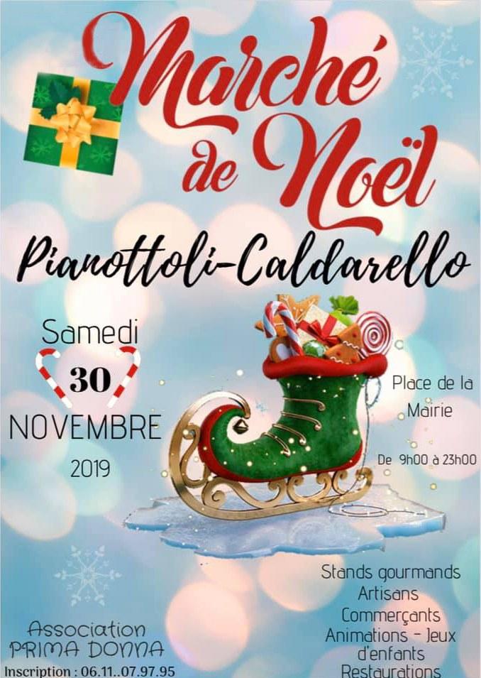 Marché de Noël de Pianottoli Caldarello