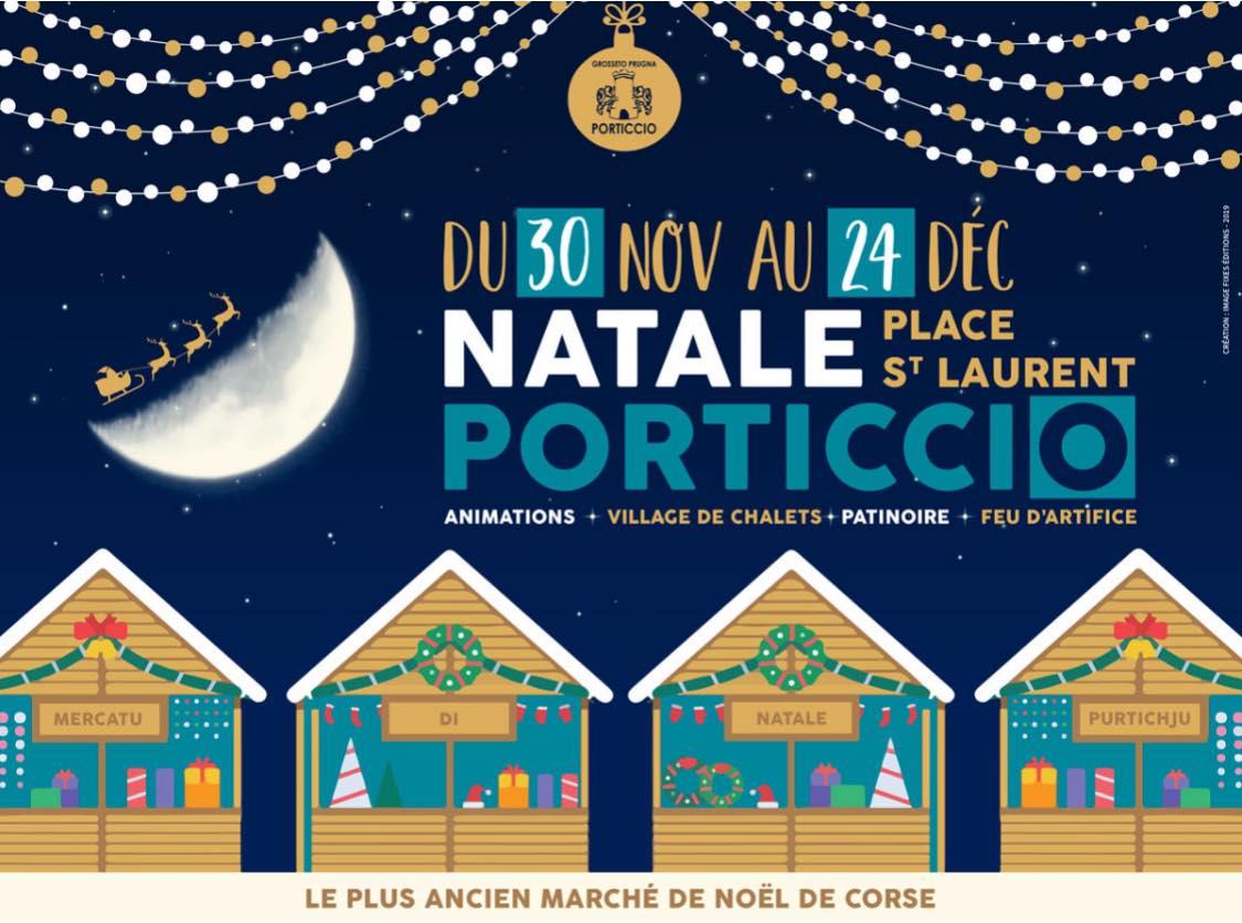 Marché de Noël de Porticcio