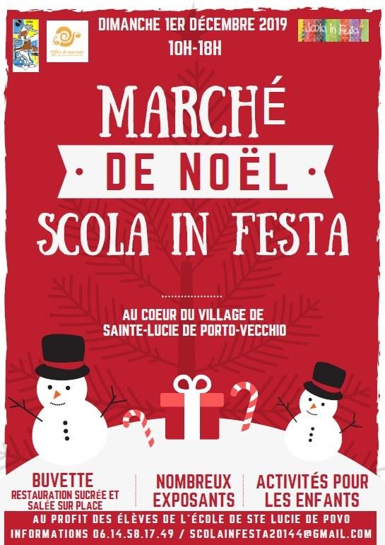 Marché de Noël de Sainte Lucie de Porto Vecchio