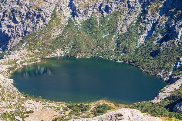 Lac de Melo à Corte - Lavu di Melu