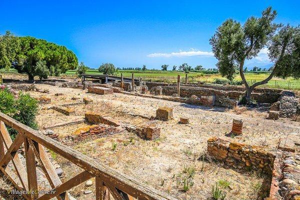Cité antique romaine de Mariana à Lucciana