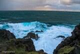 Tempête mer îles la parata ajaccio