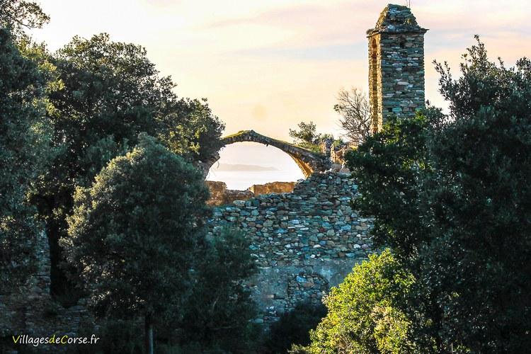 Couvent ruine farinole Saint François de l Observance - Marianda