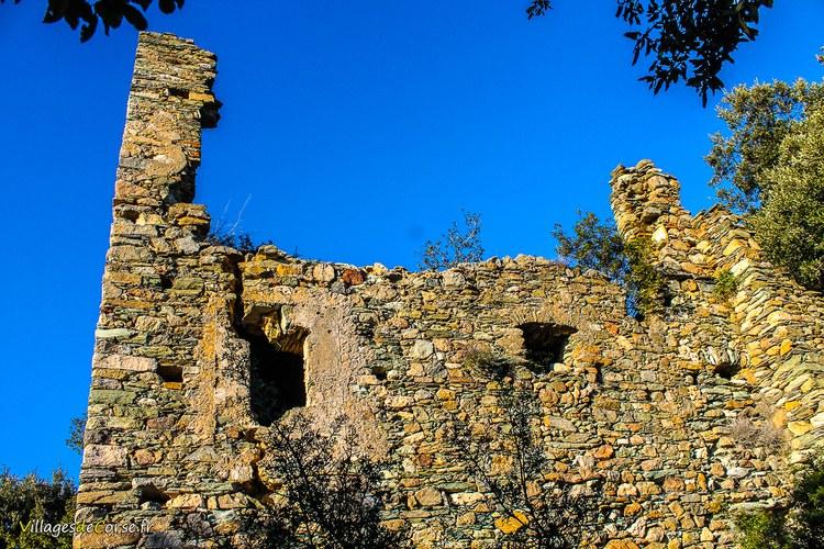 Ruine couvent mariandola farinole Saint François de l Observance - Marianda