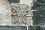 Fleur solaire - modillon