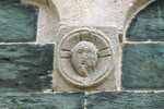 Nimbe crucifere murato saint michel