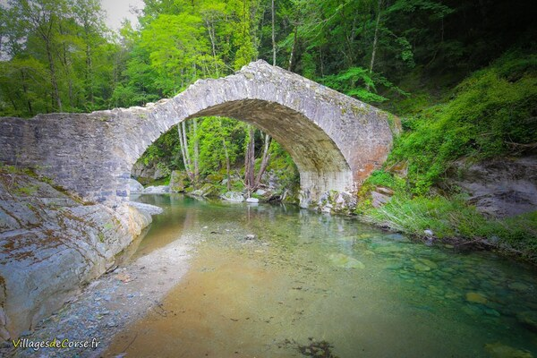 Randonnée au Pont d'Alisu à Zalana