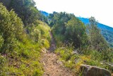 Sentier des cretes ajaccio