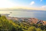 Vue ajaccio sentier des cretes