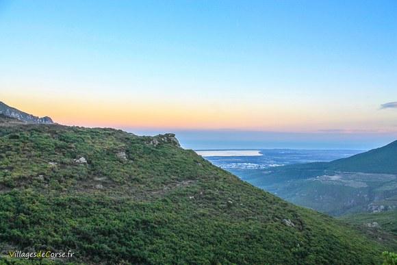 Montagne olmeta di tuda Défilé du Lancone