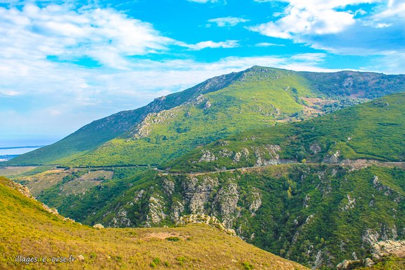 Randonnee borgo Défilé du Lancone à Olmeta di Tuda