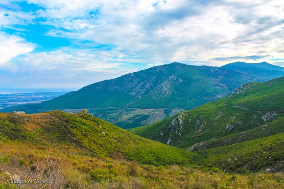 Sentier lancone Défilé du Lancone à Olmeta di Tuda