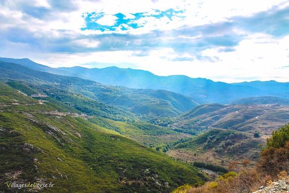 Vallee bevinco Défilé du Lancone à Olmeta di Tuda